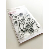 Ink Road Stamps - Clear Photopolymer Stamps - Chin Up Buttercup