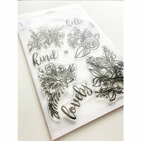 Ink Road Stamps - Clear Photopolymer Stamps - Bella Flora
