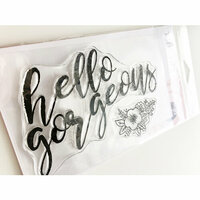 Ink Road Stamps - Clear Photopolymer Stamps - Hello Gorgeous