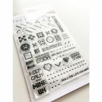 Ink Road Stamps - Clear Photopolymer Stamps - Game On