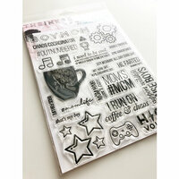 Ink Road Stamps - Clear Photopolymer Stamps - Boymom