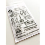 Ink Road Stamps - Clear Photopolymer Stamps - Serenity Now