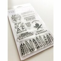 Ink Road Stamps - Clear Photopolymer Stamps - Lit AF