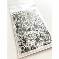 Ink Road Stamps - Clear Photopolymer Stamps - Daisie Background