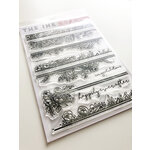 Ink Road Stamps - Clear Photopolymer Stamps - Bella Flora Borders