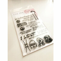 Ink Road Stamps - Clear Photopolymer Stamps - Droid Please