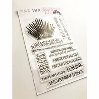 Ink Road Stamps - Clear Photopolymer Stamps - Throne