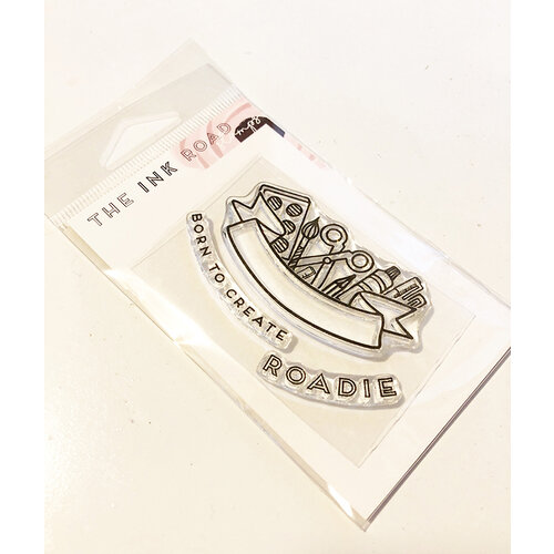 Ink Road Stamps - Clear Photopolymer Stamps - Born to Create