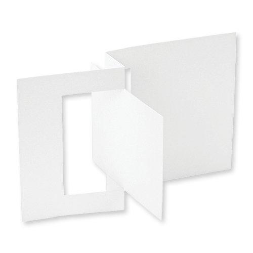 Jinger Adams - Cards and Envelopes - 6 Pack - Pop-Out Flip
