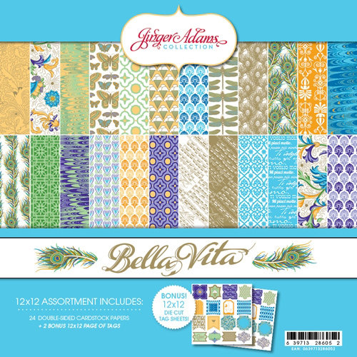 Jinger Adams - Bella Vita Collection - 12 x 12 Collection Kit
