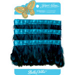 Jinger Adams - Bella Vita Collection - Feather Plumes - Peacock