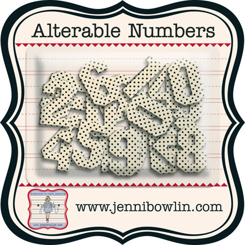Jenni Bowlin - Alterable Numbers - Numbers