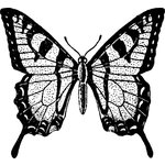 Jenni Bowlin Studio - Clear Acrylic Stamps - Butterfly