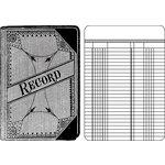 Jenni Bowlin Studio - Clear Acrylic Stamps - Ledger