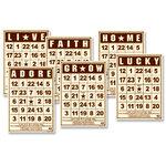 Jenni Bowlin Studio - Mini Bingo Cards - Brown