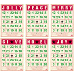 Jenni Bowlin Studio - Mini Bingo Cards - Christmas