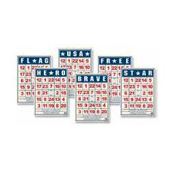 Jenni Bowlin Studio - Mini Bingo Cards - Patriotic