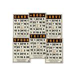 Jenni Bowlin Studio - Mini Bingo Cards - Halloween