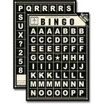 Jenni Bowlin Studio - Bingo Card Alphabet Tiles - Black, CLEARANCE