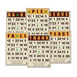 Jenni Bowlin Studio - Mini Bingo Cards - Fall