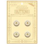 Jenni Bowlin Studio - Rhinetone Button Card - Yellow