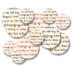 Jenni Bowlin Studio - Chipboard Buttons - Bookprint