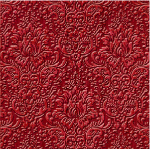 Jenni Bowlin Studio - Core'dinations - Essentials Collection - 12 x 12 Embossed Color Core Cardstock - Scarlet Wallpaper