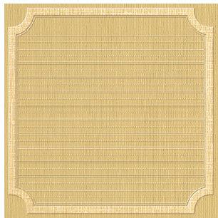 Jenni Bowlin Studio - Core'dinations - Essentials Collection - 12 x 12 Embossed Color Core Cardstock - Beach Square Label
