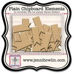 Jenni Bowlin Studio - Chipboard Shapes - Flag