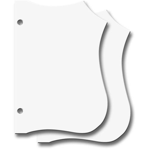 Jenni Bowlin Studio - Chipboard Shapes - Die Cut Book Set - Small