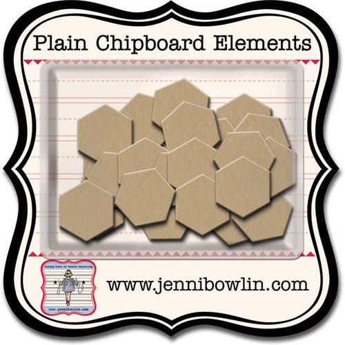Jenni Bowlin Studio - Chipboard Shapes - Hexagons