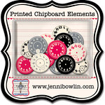 Jenni Bowlin Studio - Printed Chipboard Shapes - Watch Faces