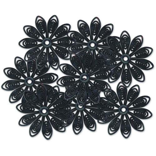 Jenni Bowlin - Doily Flowers - Black