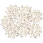 Jenni Bowlin - Doily Flowers - Cream