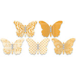 Jenni Bowlin Studio - Jewel Embellished Butterflies - Orange, CLEARANCE
