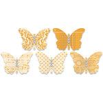 Jenni Bowlin Studio - Jewel Embellished Butterflies - Orange, CLEARANCE