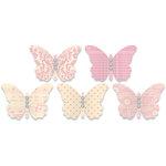 Jenni Bowlin Studio - Jewel Embellished Butterflies - Pink
