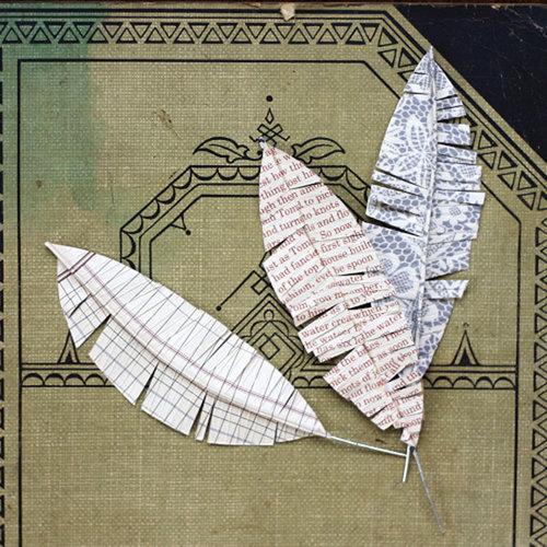 Jenni Bowlin Studio - Feathers - Cardstock