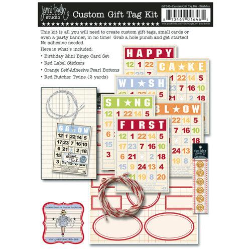Jenni Bowlin Studio - Custom Gift Tag Kit - Birthday