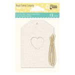 Jillibean Soup - Shaker Tag - Small - Heart