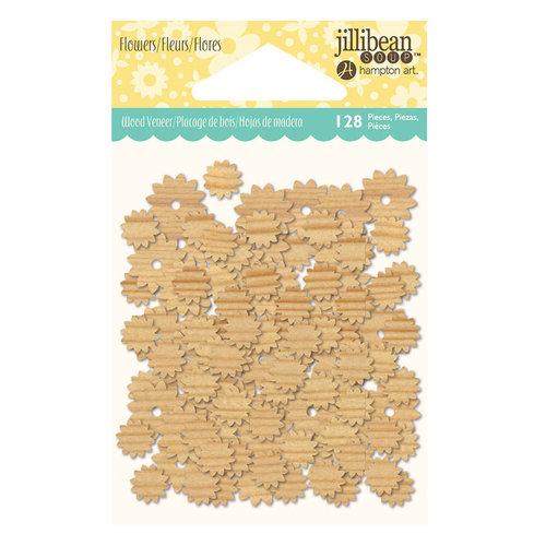 Jillibean Soup - Shaker Wood Veneer Pieces - Flowers