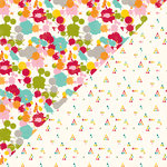 Jillibean Soup - Shades of Color Collection - 12 x 12 Double Sided Paper - Bold Brilliance