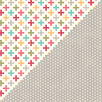 Jillibean Soup - Shades of Color Collection - 12 x 12 Double Sided Paper - Gregarious Glow