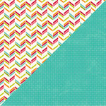 Jillibean Soup - Shades of Color Collection - 12 x 12 Double Sided Paper - Sassy Saturation