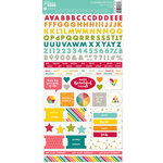 Jillibean Soup - Shades of Color Collection - Cardstock Stickers