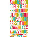 Jillibean Soup - Shades of Color Collection - Die Cut Cardstock Pieces - Letters