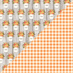 Jillibean Soup - Farmhouse Stew Collection - 12 x 12 Double Sided Paper - Rise and Shine