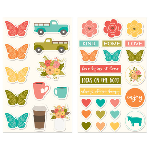 Jillibean Soup - Farmhouse Stew Collection - Puffy Stickers