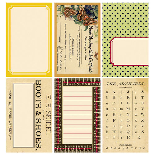 Jenni Bowlin Studio - Family Tree Collection - Journaling Cards, CLEARANCE