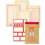 Jenni Bowlin Studio - Memo Book - Red , CLEARANCE